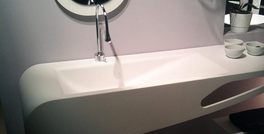 Shape line - Corian salle de bain ...